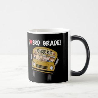 School Bus Love 3rd Grade Magic Mug