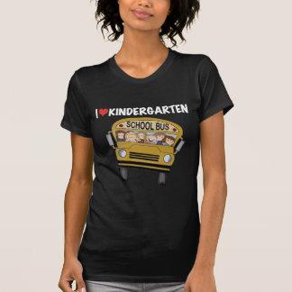 School Bus Love Kindergarten Tshirts