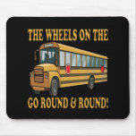 School Bus Mouse Pad