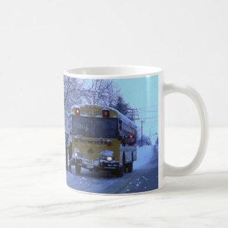 School Bus! Classic White Coffee Mug