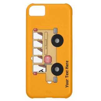 School Bus (personalizable) Case For iPhone 5C