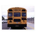 School Bus Picture Postcards