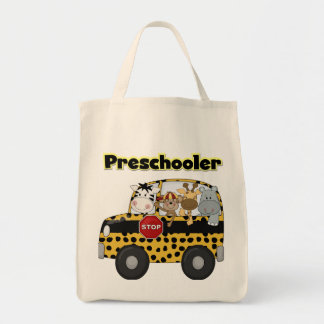 School Bus Preschooler Tshirts and Gifts Tote Bag