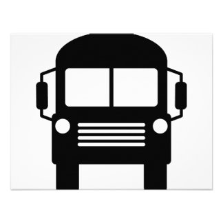 school bus sign custom announcements