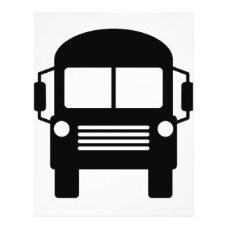 school bus sign flyer