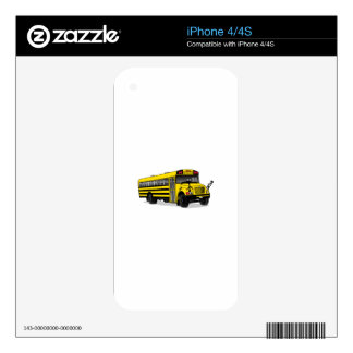 School Bus Skin For The iPhone 4