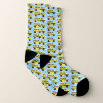 School Bus Socks