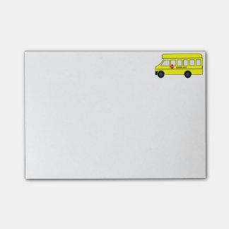 School Bus Post-it® Notes