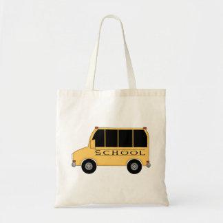School Bus Tote Bags