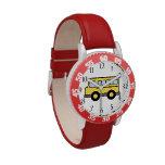 School Bus Wristwatches