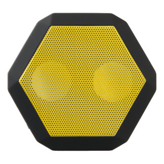 School Bus Yellow Solid Color Black Bluetooth Speaker