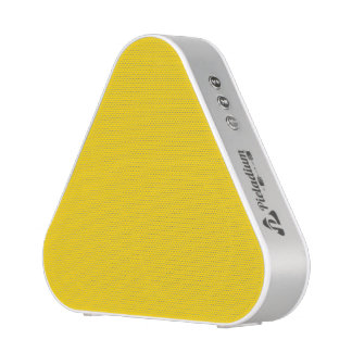 School Bus Yellow Solid Color Bluetooth Speaker