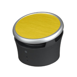 School Bus Yellow Solid Color Speaker