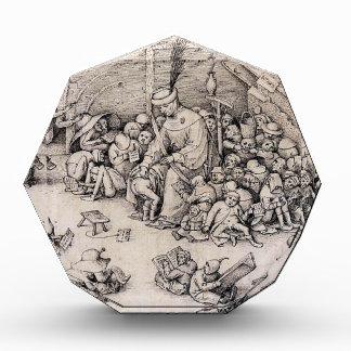 School by Pieter Bruegel the Elder Acrylic Award