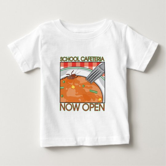 School Cafeteria Baby T-Shirt