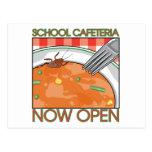 School Cafeteria Postcards