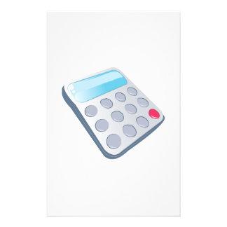 School Calculator Custom Stationery
