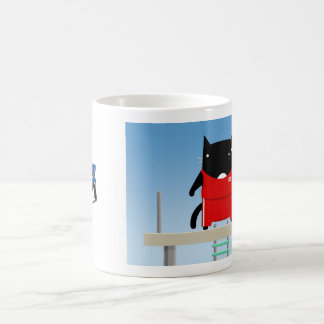 School Cat Coffee Mug