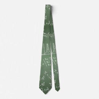 School chemical pattern neck tie