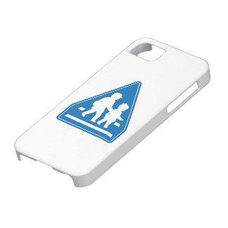 School Children Crossing >> Japanese Traffic Sign iPhone SE/5/5s Case