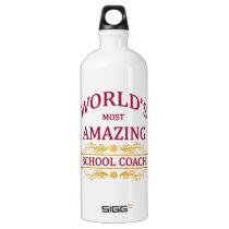 School Coach Aluminum Water Bottle