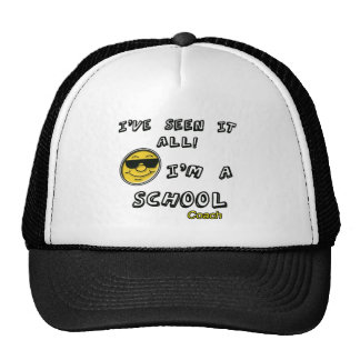 School Coach Trucker Hat