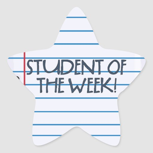 School Collection Student of the Week Stickers