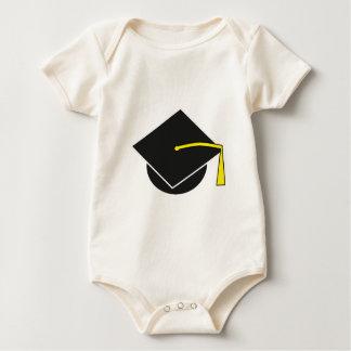 School/College/University Graduation Cap Baby Bodysuit