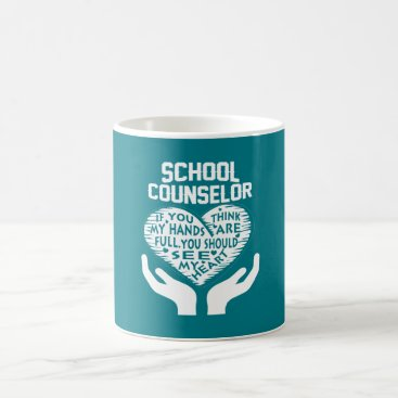 Valentines Themed School Counselor Coffee Mug