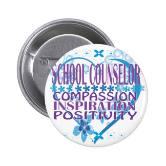 School Counselor Gifts 2 Inch Round Button