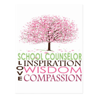 School Counselor Gifts Postcard