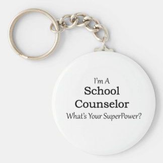 School Counselor Keychain