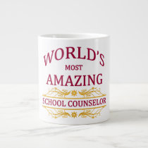 School Counselor Large Coffee Mug