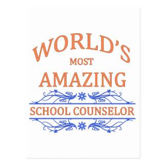 School Counselor Postcard