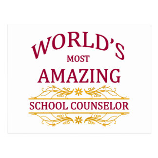 School Counselor Postcard