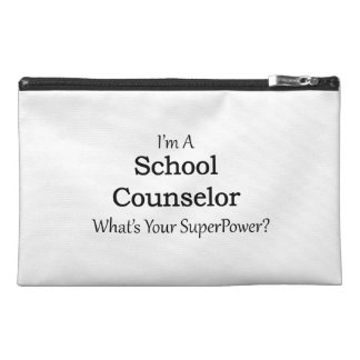 School Counselor Travel Accessories Bag