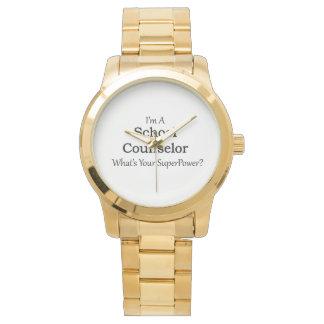School Counselor Wristwatch