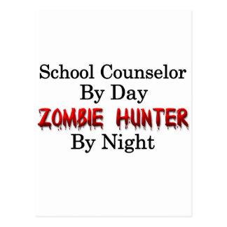 School Counselor/Zombie Hunter Postcard