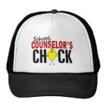 School Counselor's Chick Trucker Hat