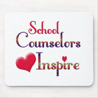 School Counselors Inspire Mousepad
