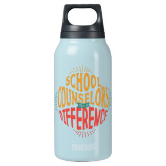 School Counselors Make A Difference Thermal Insulated Water Bottle