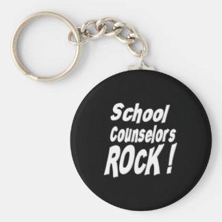 School Counselors Rock! Keychain