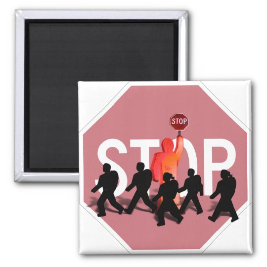 School Crossing Guard Magnet