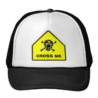 SCHOOL-CROSSING, ME CRUZAN GORRAS