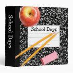 """School Days 1.5"""" Photo Album Binders"""
