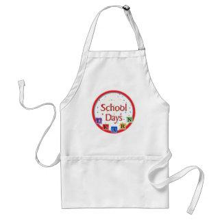 School Days Blocks Aprons