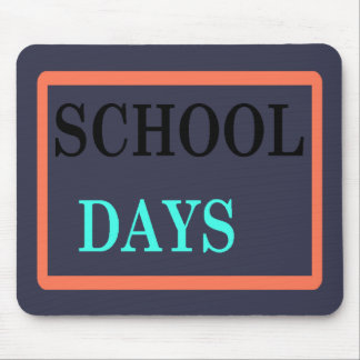 School Days Mouse Pad