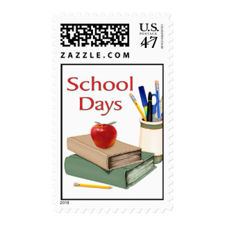 School Days Postage