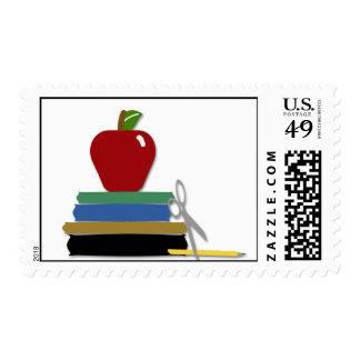 School Days Postage Stamp