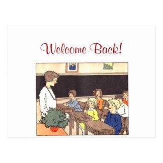 School Days Postcard